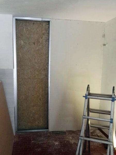 Parete in cartongesso scandiano reggio emilia isolamento - Creare una parete in cartongesso ...